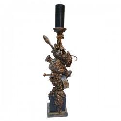 bougeoir-sculpté-vase