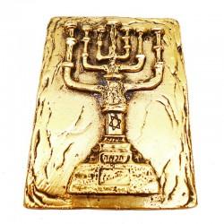 Médaille Menorah