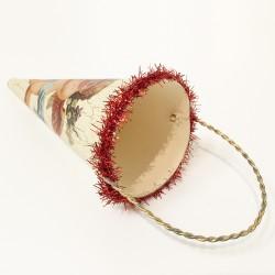 Cherub cone orn haut rouge
