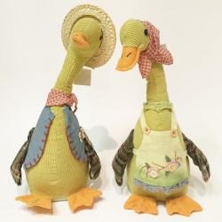 Sing & slide boy & girl duck