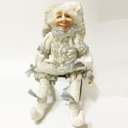 Shiver elf doll white