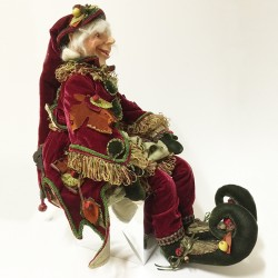 Hickory elf doll A
