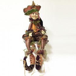 Hickory elf doll C