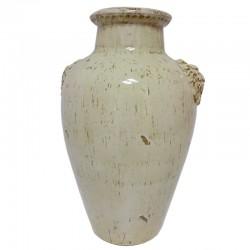 Vase Droit tête de lion