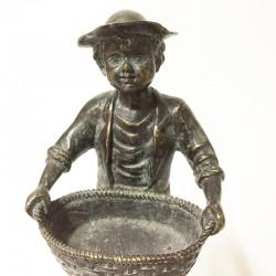 """Statue en Bronze """"paysan"""""""